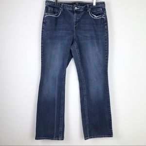 Cato Whiskered Blue Denim Jeans Size 20W